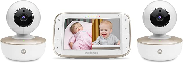 """Motorola MBP855CONNECT-2 Portable 5"""" Video Baby Monitor with Wi-Fi Viewing, 2.."""