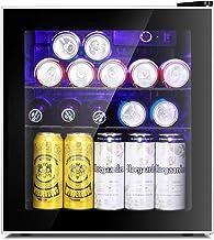 Antarctic Star Mini Fridge Cooler – 60 Can Beverage Refrigerator Glass Door for..