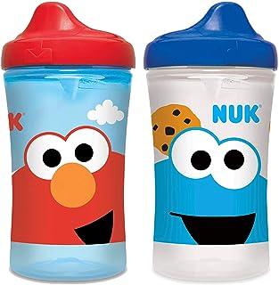 NUK Sesame Street Hard Spout Cup, 10 Oz, 2 Pack