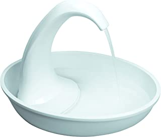 Pioneer Pet Swan Pet Drinking Fountain: 80oz Water Capacity