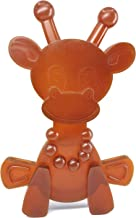Amber Teething Toy – Little Bamber is a Natural Amber and Rubber Giraffe Teething Toy..