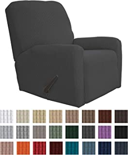 Easy-Going Recliner Stretch Sofa Slipcover Sofa Cover 4-Pieces Furniture Protector Couch..