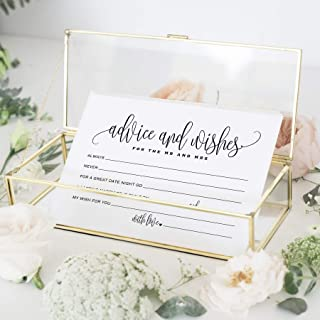 Bliss Collections Mad Libs Advice and Wishes Cards for the New Mr and Mrs, Bride and..