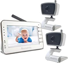 Moonybaby Trust 30 Video Baby Monitor with 2 Cameras, Bonus: 2 USB Power Cords for..