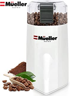 Mueller Austria HyperGrind Precision Electric Spice/Coffee Grinder Mill with Large..