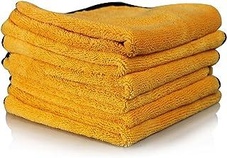 Chemical Guys MIC_507_06 Professional Grade Premium Microfiber Towel, Gold (16 in. x 24..