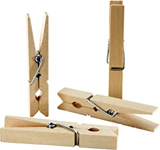Sorillo Brands 50 Wooden Clothes Pins – 2-7/8 inch