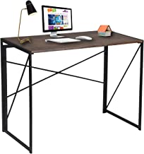 Writing Computer Desk Modern Simple Study Desk Industrial Style Folding Laptop Table for..