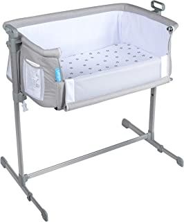 Milliard Bedside Bassinet Side Sleeper/Portable Infant Crib