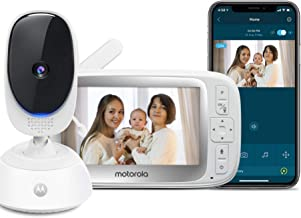 """Motorola Connect40 Video Baby Monitor – 5"""" Parent Unit and HD Wi-Fi Viewing.."""