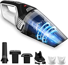 Homasy Handheld Vacuum Cordless, 8Kpa Hand Vacuum with Powerful Cyclonic Suction,..