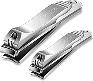 BESTOPE Nail Clipper Set Sharp Fingernail Clippers Toenail Clippers Nail Cutter Stainless..