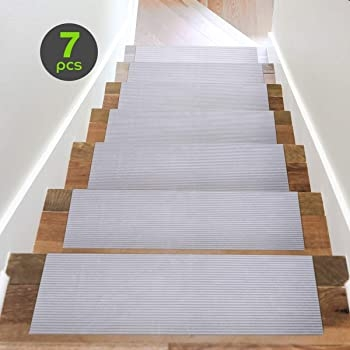 Explore Stair Treads For Dogs Amazon Com | Dog Slipping On Wood Stairs | Steps | Hardwood Floors | Self Adhering | Hardwood | Puppy Treads