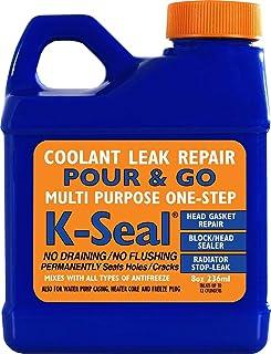 K-SEAL Coolant Leak Repair, ST5501 8oz, Multi-Purpose Formula Stops Leaks in the..