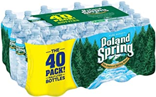 Poland Spring 100% Natural Spring Water (16.9 oz. bottles, 40 pk.)