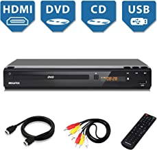 DVD Player, Megatek Home DVD Player for TV with HDMI Full HD 1080p Upscaling, USB Port,..