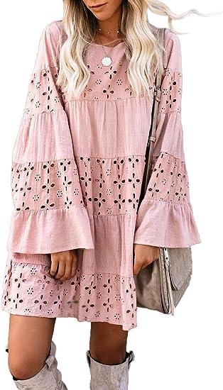 beautiful dress pink boho