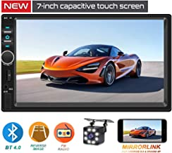 Double Din Car Stereo,TouchScreen Car MP5/4/3 Player with Rear-View Camera,FM Radio..