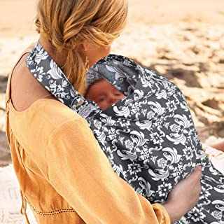 UHINOOS Nursing Cover,Infinity Soft Breastfeeding Cotton for Babies with No See Through..