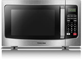 Toshiba EM131A5C-SS Microwave Oven with Smart Sensor, Easy Clean Interior, ECO Mode and..