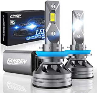 Fahren H11/H9/H8 LED Headlight Bulbs, 60W 10000 Lumens Super Bright LED Headlights..