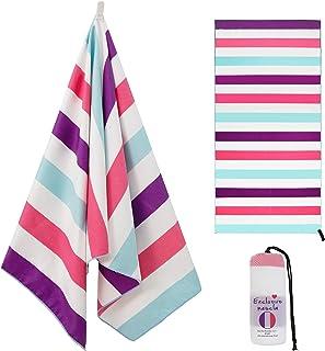 Exclusivo Mezcla Large Microfiber Beach Towel, Sand Free Sports/Swimming/Pool Towel for..
