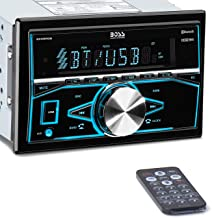 BOSS Audio Systems 820BRGB Multimedia Car Stereo – Double Din, Bluetooth Audio and..