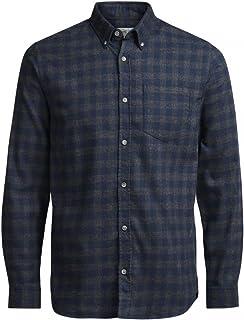 Jack & Jones Jorwilliam Shirt LS Camisa para Hombre