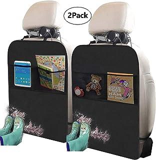 Freddie and Sebbie Kick Mats- Luxury Car Seat Back Protectors 2 Pack, Perfect Backseat..