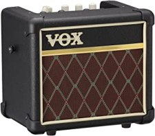VOX MINI3 G2 Battery Powered Modeling Amp, 3W Classic MINI3G2CL