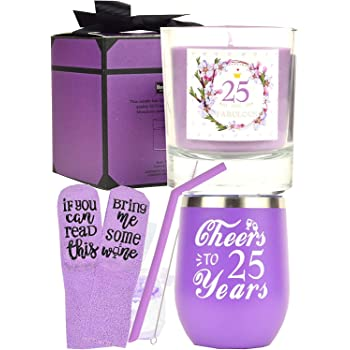 Amazon Com 25th Birthday Gifts For Woman 25 Birthday Decorations For Her 25th Birthday Gifts Ideas I M 25 Best Turning 25 Year Old Birthday Gifts Ideas For Her 25th Birthday Cup 25 And