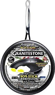 GRANITESTONE 2146 Non-stick, No-warp, Mineral-enforced Frying Pans PFOA-Free As Seen On TV (12-inch)
