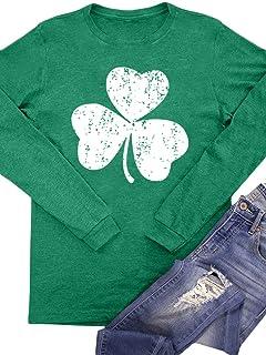 Intimate Boutique Women's St Patrick's Day Irish Long Sleeve Shirt