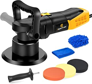 Buffer Polisher, 6 Inch Dual Action Polisher with Variable Speeds, Detachable Handles for..