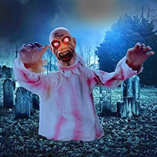 Zombie Glowing Eye...