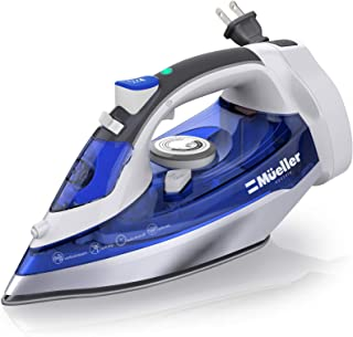 Mueller Professional Grade Steam Iron, Retractable Cord for Easy Storage, Shot of..