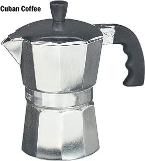 IMUSA USA B120-42V Aluminum Espresso Stovetop Coffeemaker 3-Cup, Silver