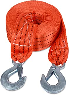 JCHL Tow Strap with Hooks 2in X20Ft Recovery Strap 10,000LB Break Strengthened Towing..