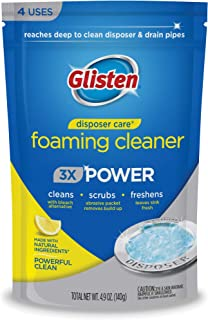 Glisten Disposer Care Cleaner with Foaming Bleach Alternative. Clean and Deodorize Your..