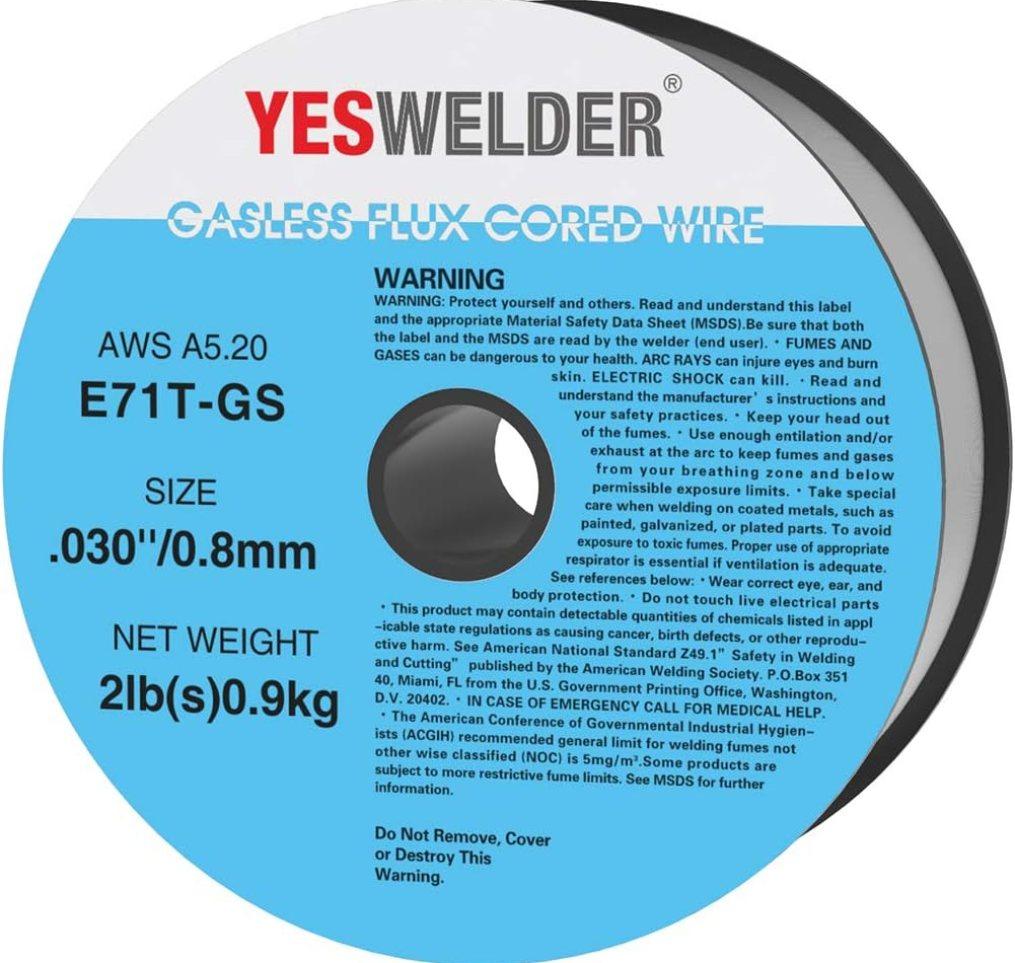 best flux cored wire for welding