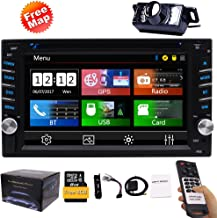 Double Din Car Stereo GPS Navigation System DVD Player Bluetooth 2 Din Car Radio..