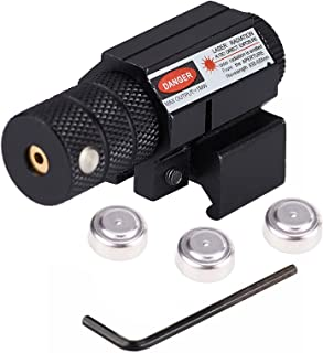 Pinty Compact Tactical Red Laser Sight with Picatinny Mount Alan Wrenches for Hunting..