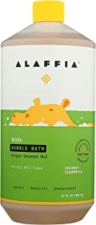 Alaffia Everyday Coconut Bubble Bath for Babies and Kids, Gentle for Sensitive to Very..