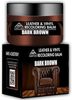 Dark Brown Leather Recoloring Balm – Leather Repair Kits for Couches –..