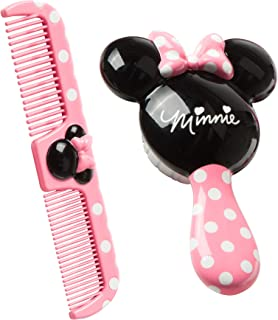 Disney Baby Minnie Hair Brush and Wide Tooth Comb Set