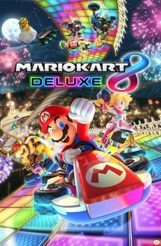 Amazon.com: Pyramid America Mario Kart 8 Deluxe Video Game Gaming Cool Wall  Decor Art Print Poster 24x36: Posters & Prints