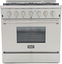 """Kucht KRD366F-S Professional 36"""" 5.2 cu. ft. Dual Fuel Range for Natural Gas,.."""