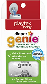 Playtex Diaper Genie Carbon Filter, Ideal for Use with Diaper Genie Complete, Odor Eliminator