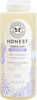 The Honest Company Truly Calming Lavender Bubble Bath Tear Free Kids Bubble Bath..