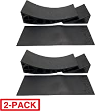 Beech Lane Camper Leveler 2 Pack – Precise Camper Leveling, Includes Two Curved..